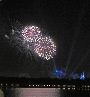 Fireworks on the Water Front