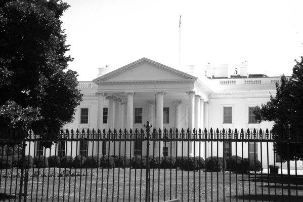 A House for a President B&W
