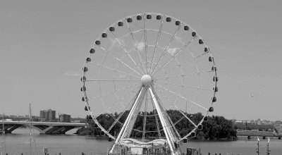 The Wheel of Freedom B&W