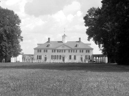 The Original Presidential Home B&W